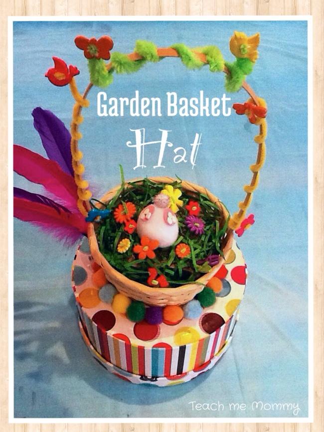 Garden basket Hat