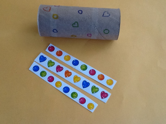 TP roll and stickers