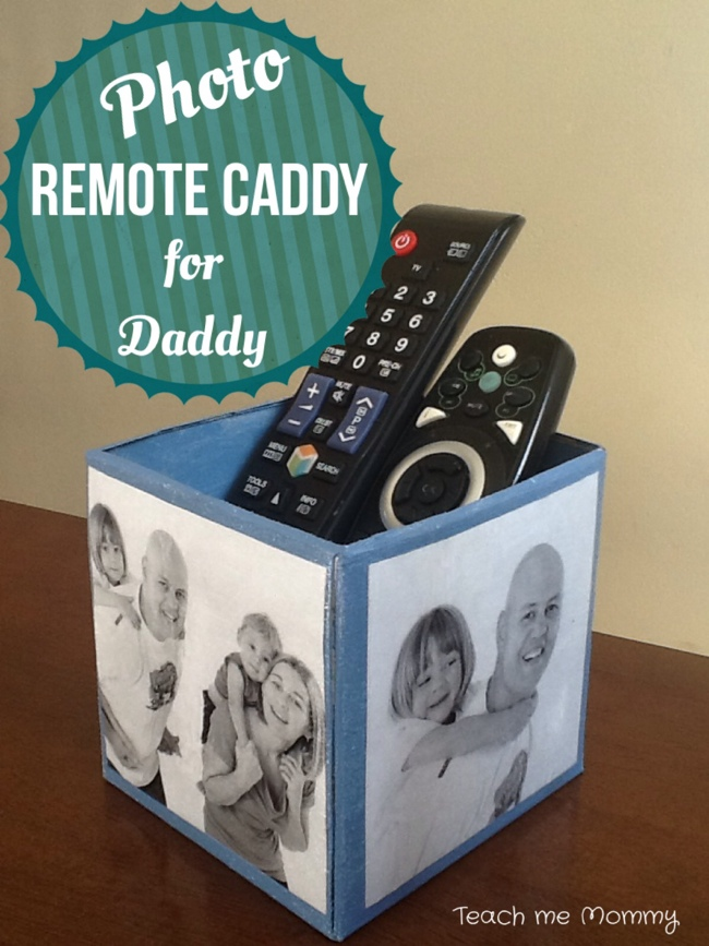 Remote caddy for Daddy