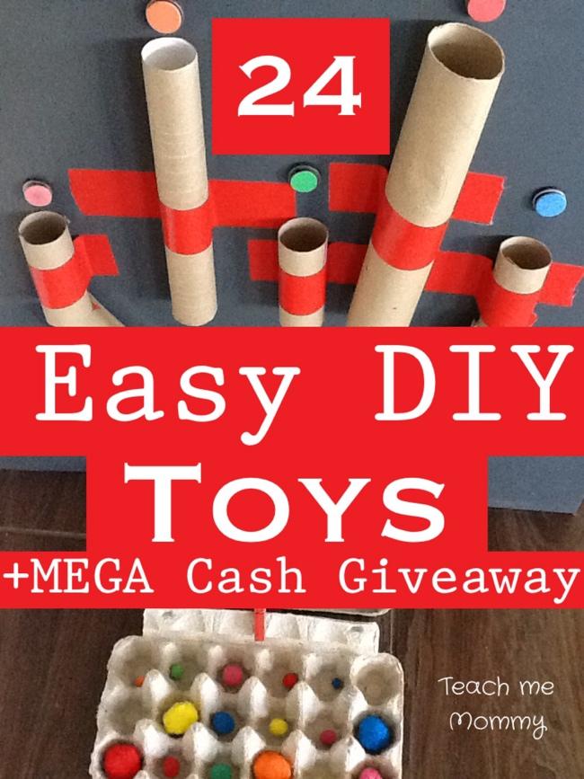 Easy DIY Toys