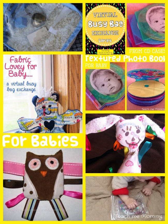 roundup:busy bags for babies