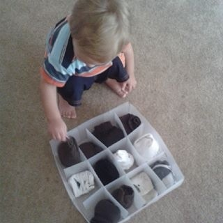 Sock Organizing