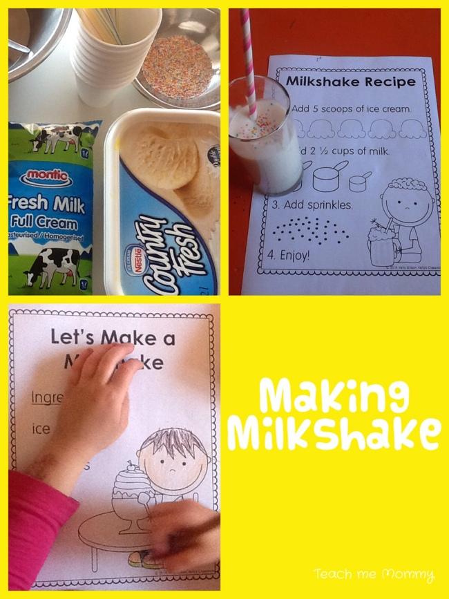 MAking milkshakes