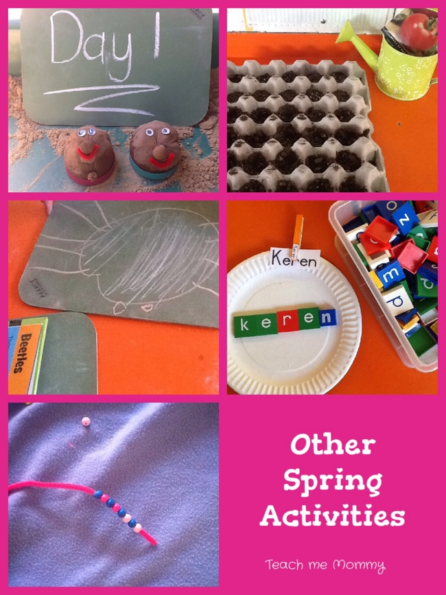 Other spring activities