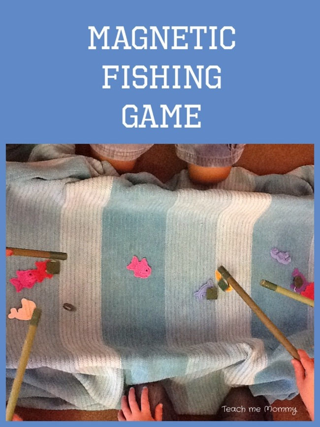 Magnetic fish game