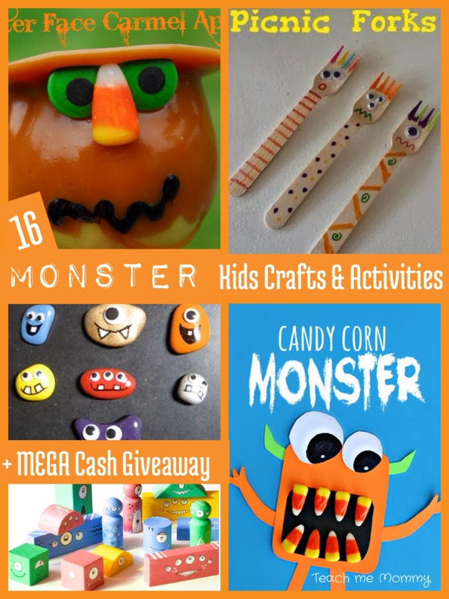 16 Monster Crafts & Activities
