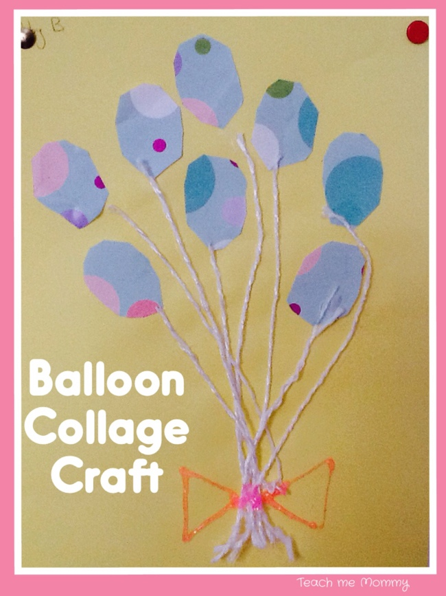 Balloon Collage Craft