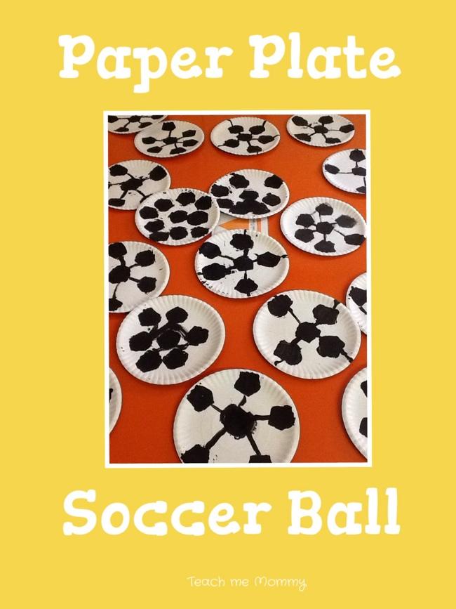 paper plate soccer balls