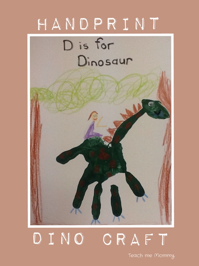 Dinosaur Handprint