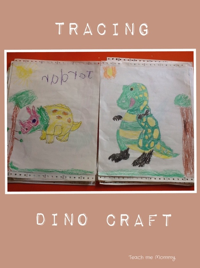 Tracing Dino Craft