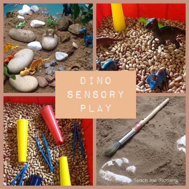 Dino Sensory Play