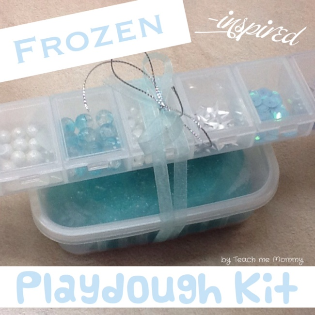 frozen plaudough gift