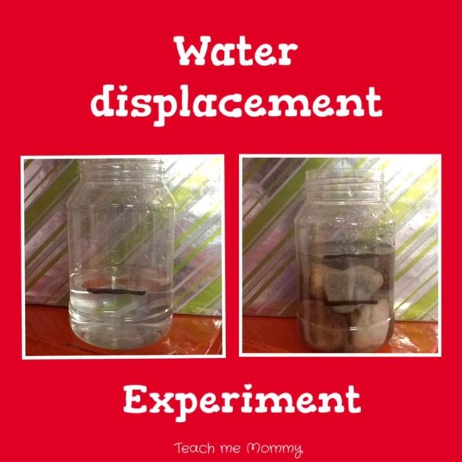 Displacement experiment