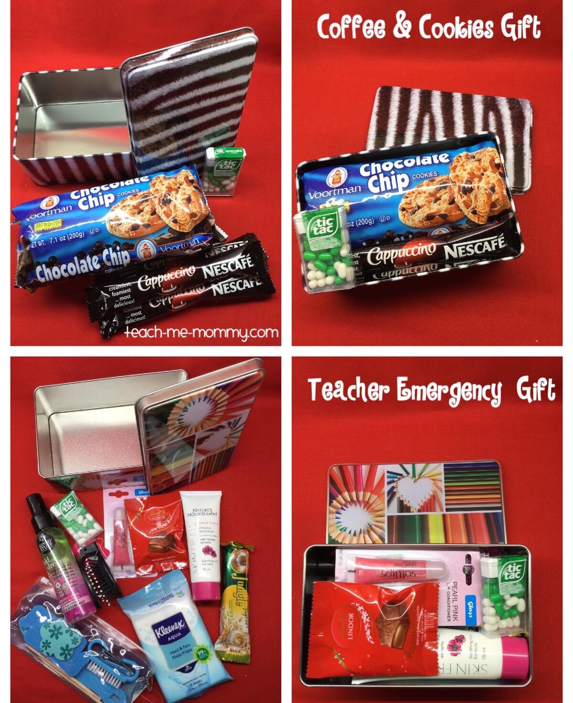 Coffee & Cookies, Teacher Emergency Kit