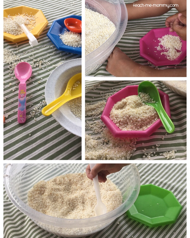 Maize rice play