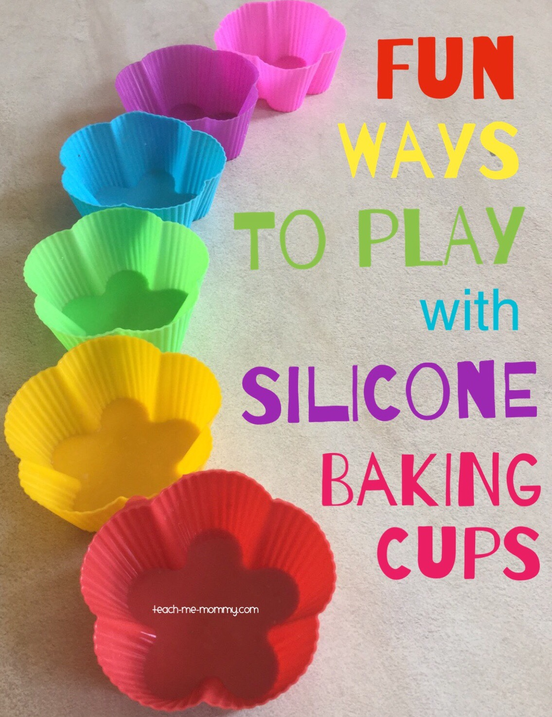 play with silicone cups