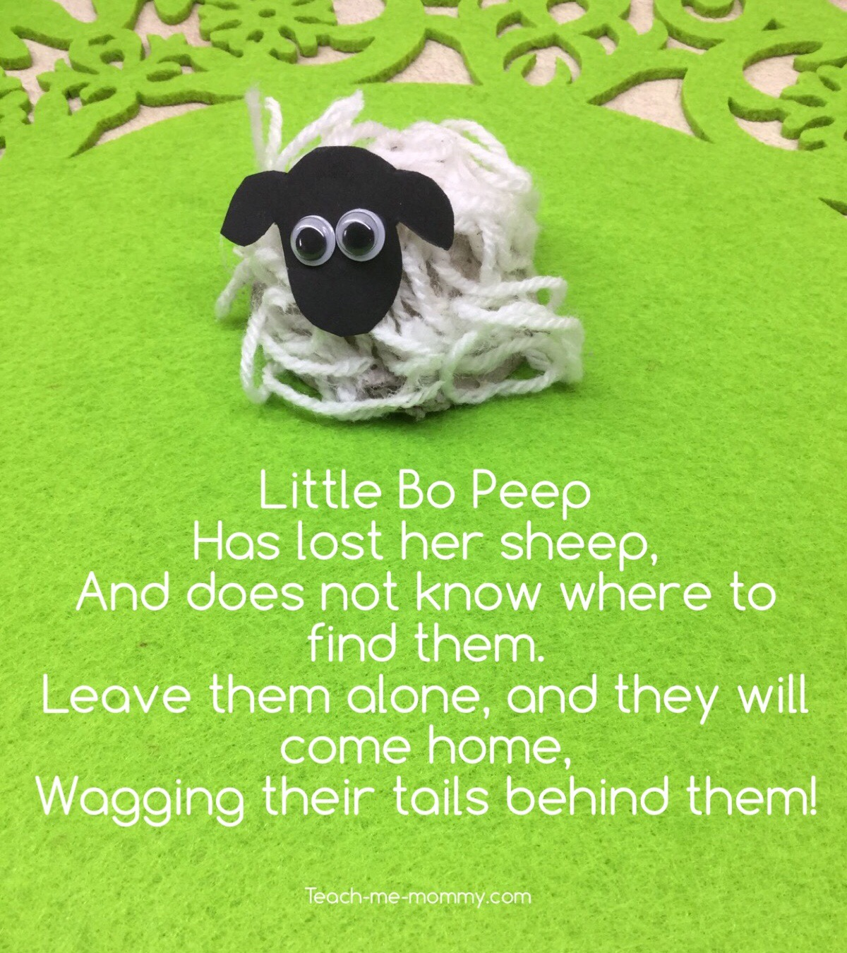 little bo peep rhyme
