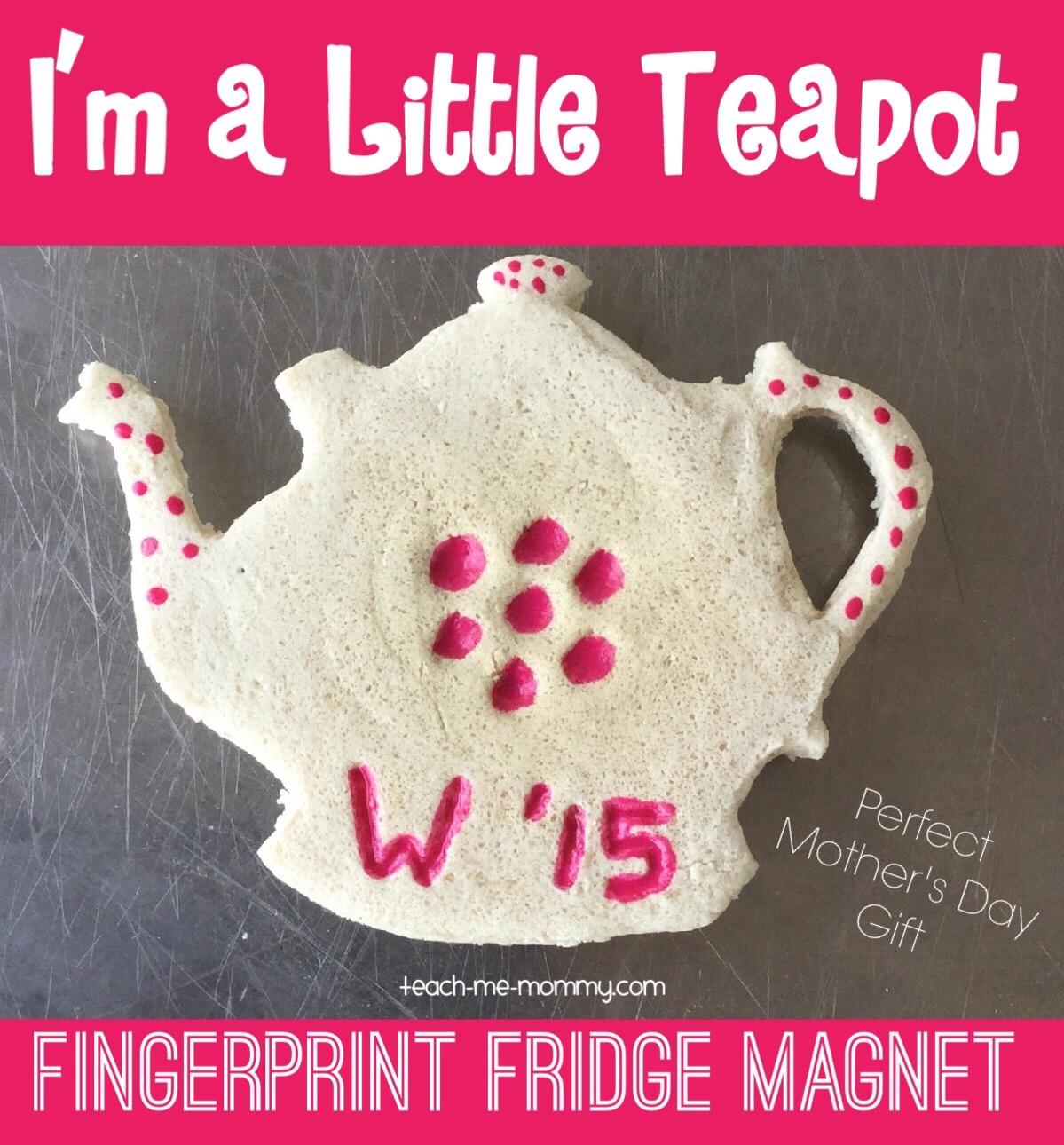 teapot fingerprint magnet