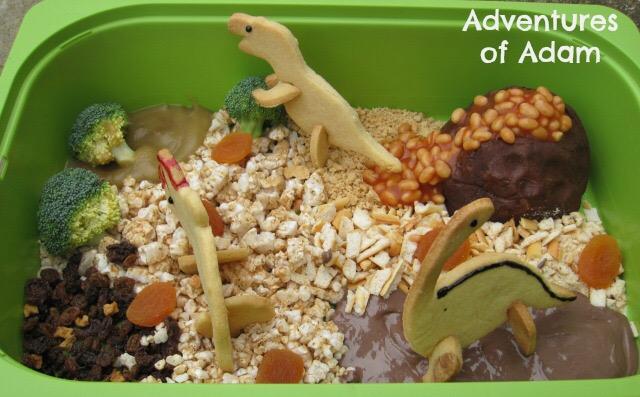 edible sensory bin