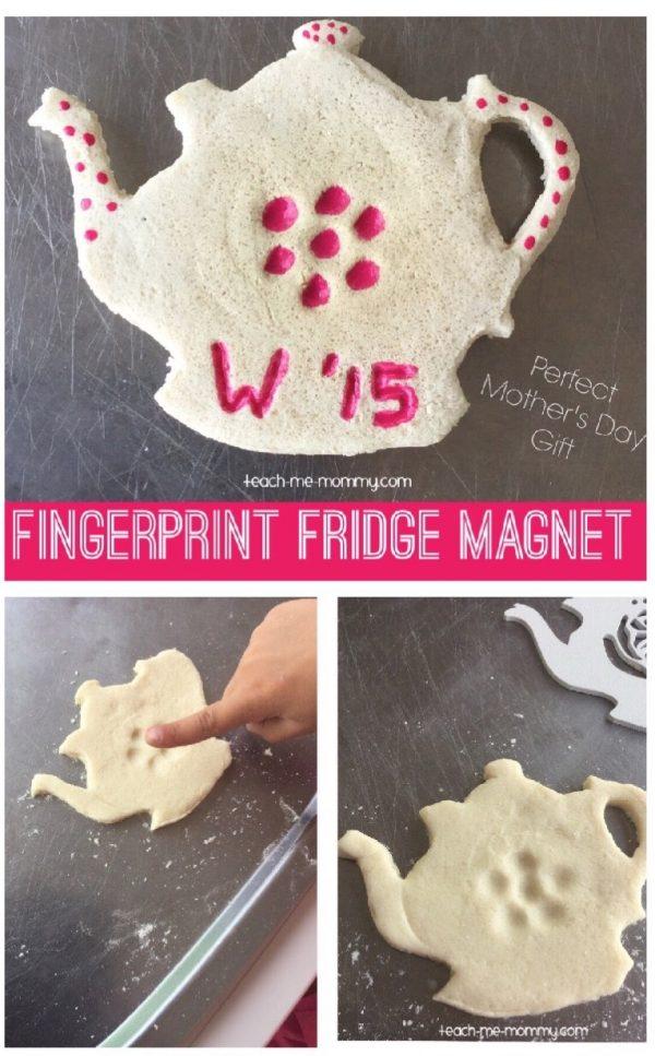 Teapot magnet