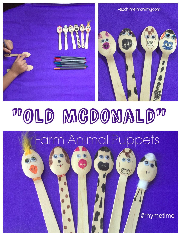 farm animal puppets