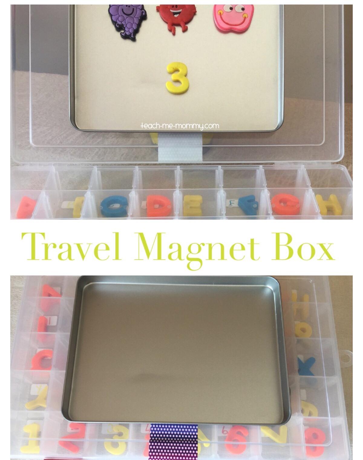 travel magnet box