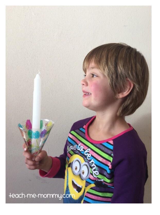 candle holder craft
