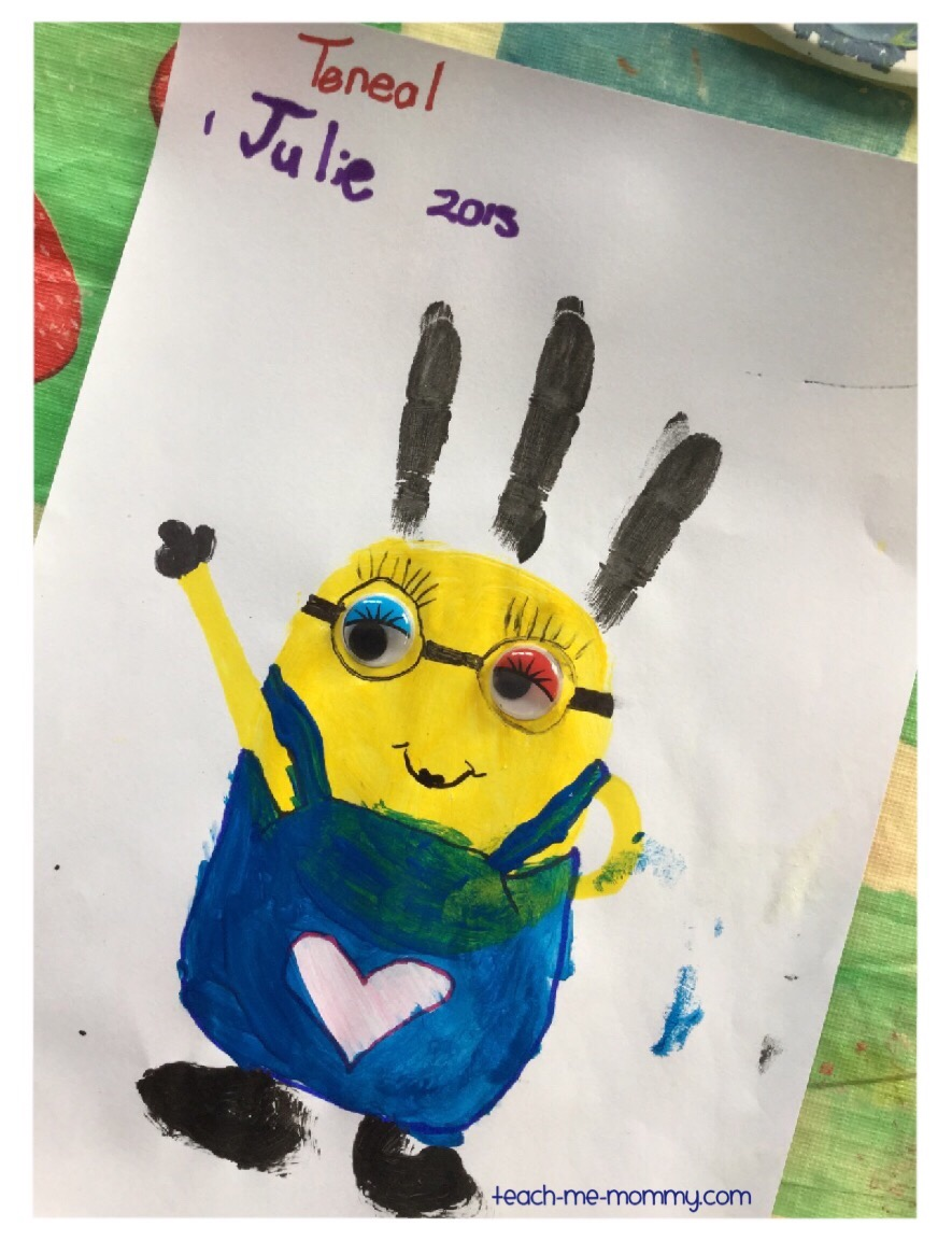 painted minion