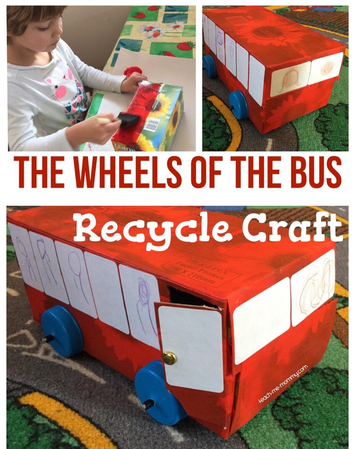 wheels pf the bus craft