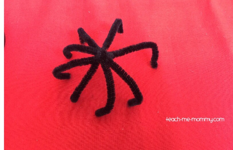 Incy Wincy Spider Pipecleaner Craft Teach Me Mommy