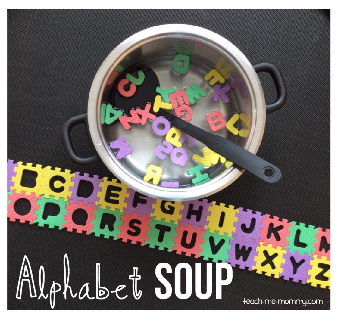alphabet soup learn and play teach me mommy. Black Bedroom Furniture Sets. Home Design Ideas