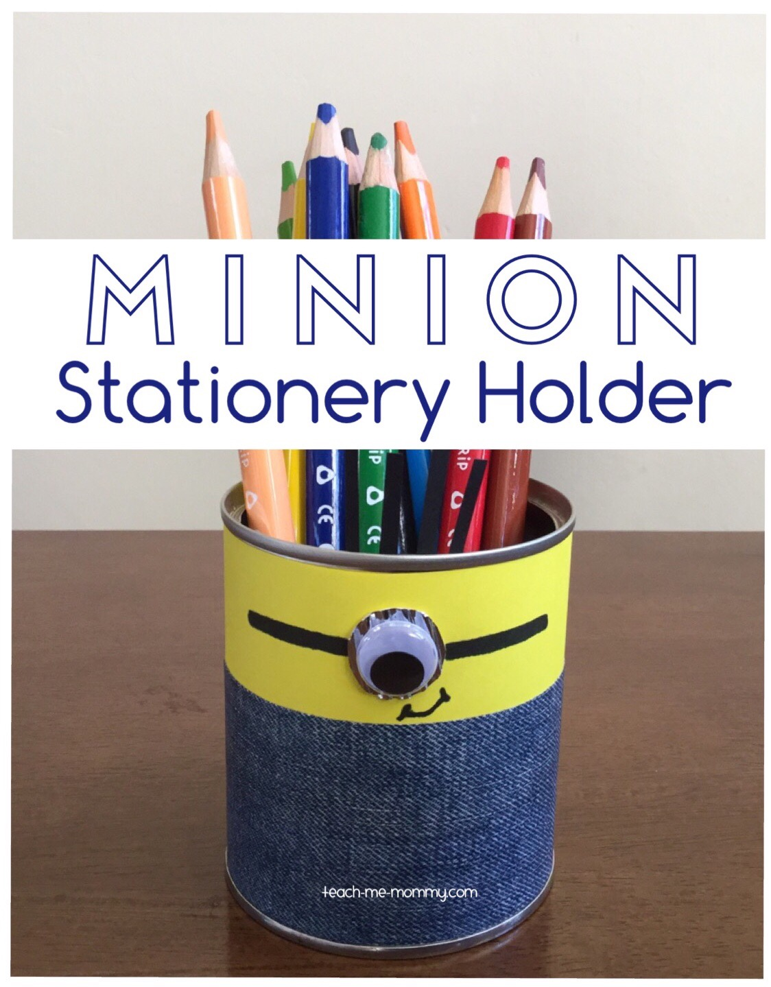 minion stationery holder
