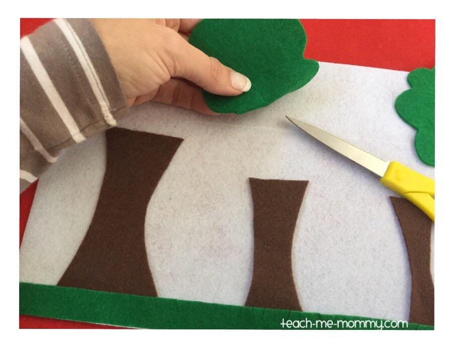 cutting slits