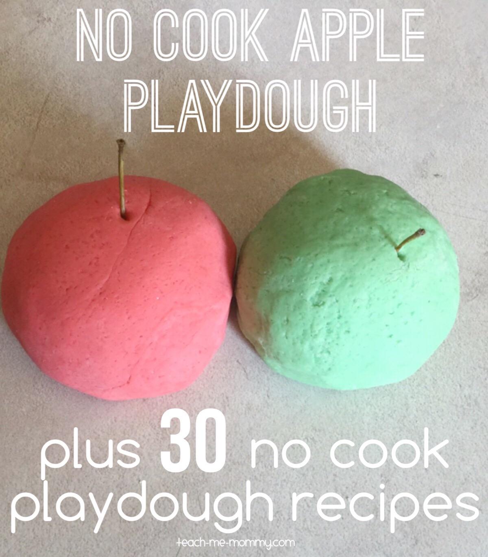 no cook playdough recipes