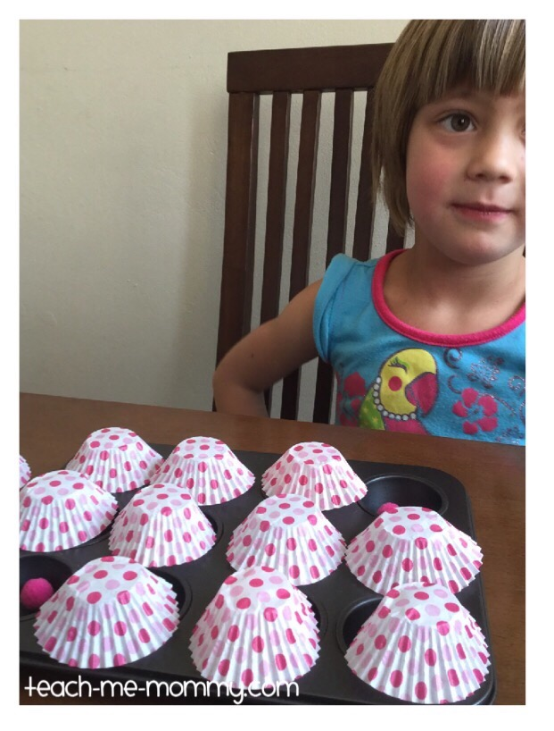 cover up with cupcake liners
