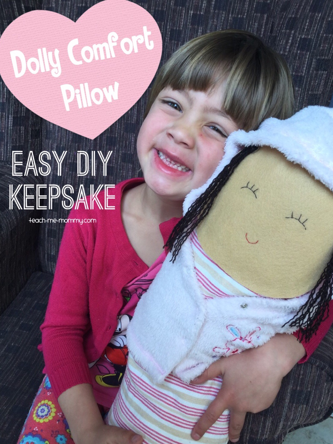 Dolly comfort pillow