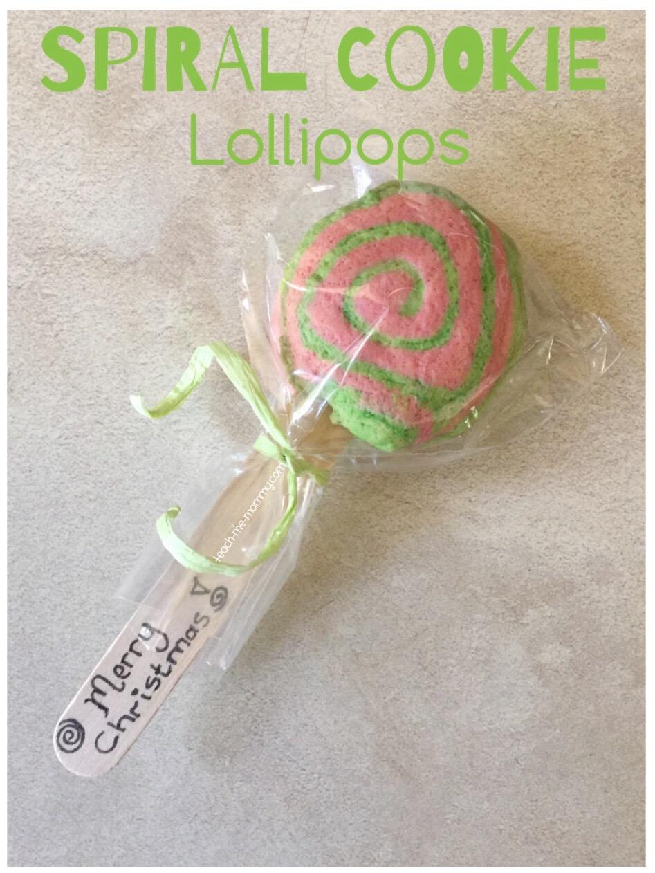 cookie lollipop