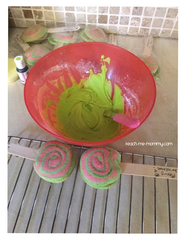 green icing