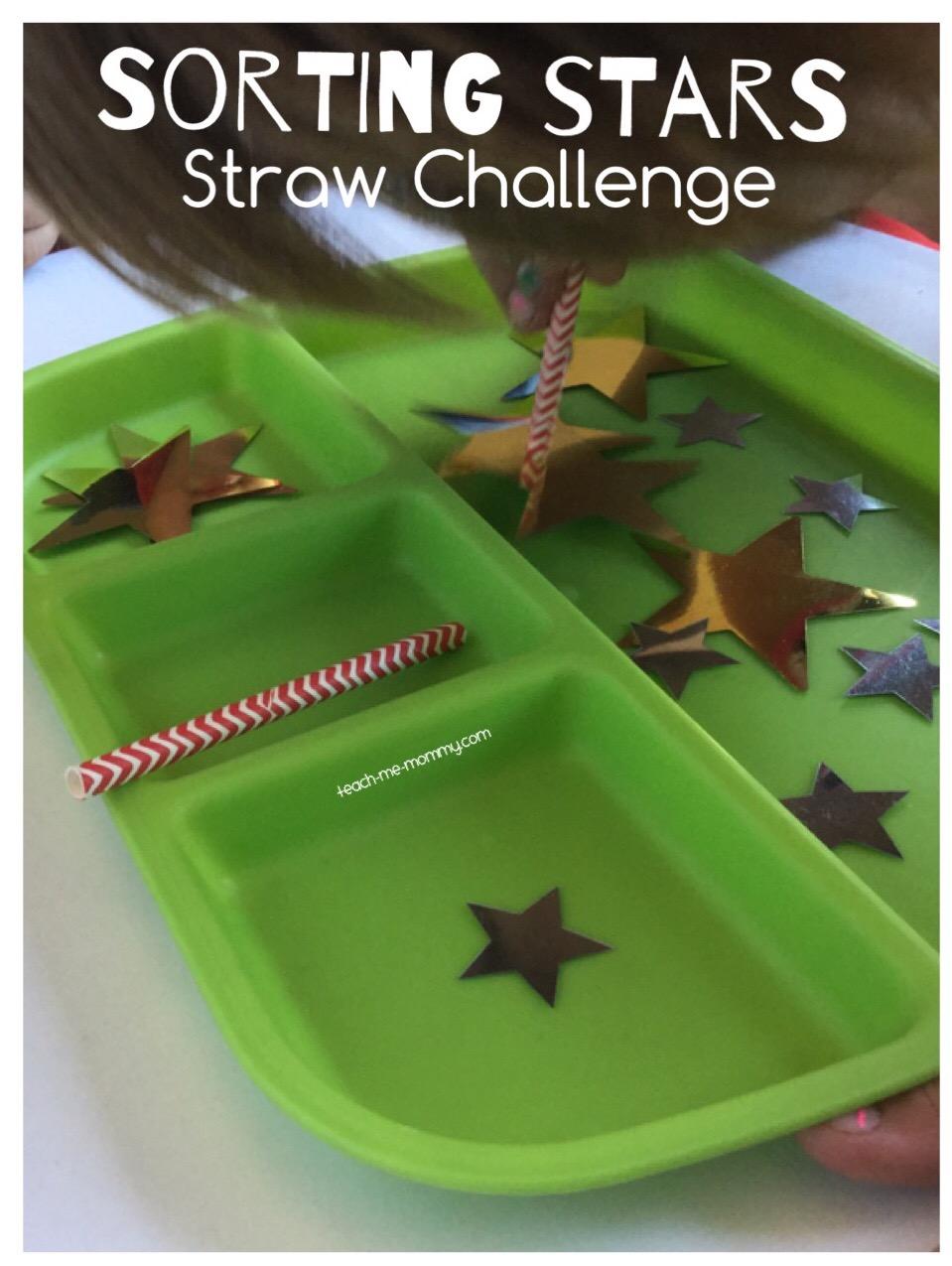 sorting stars challenge