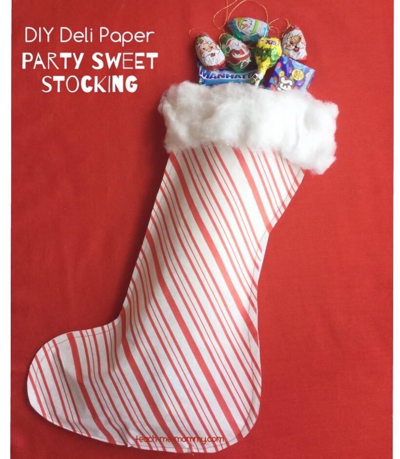 sweet stocking