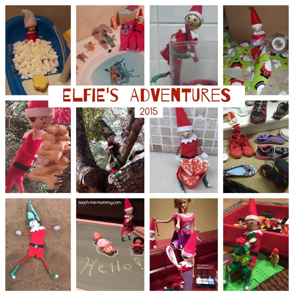 our elfie's adventures