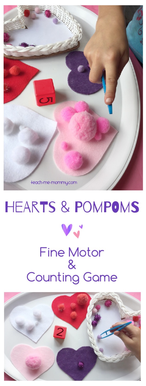 fine motor & counting game