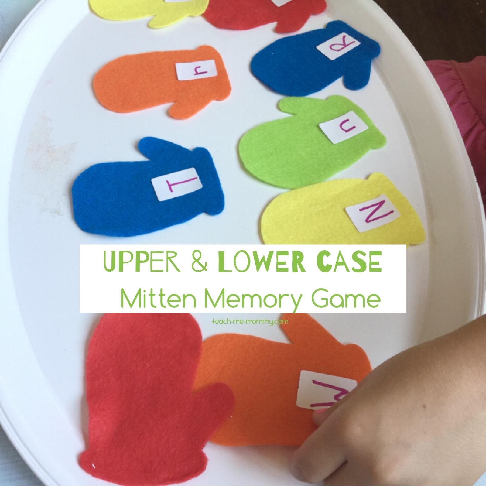 mitten match memory