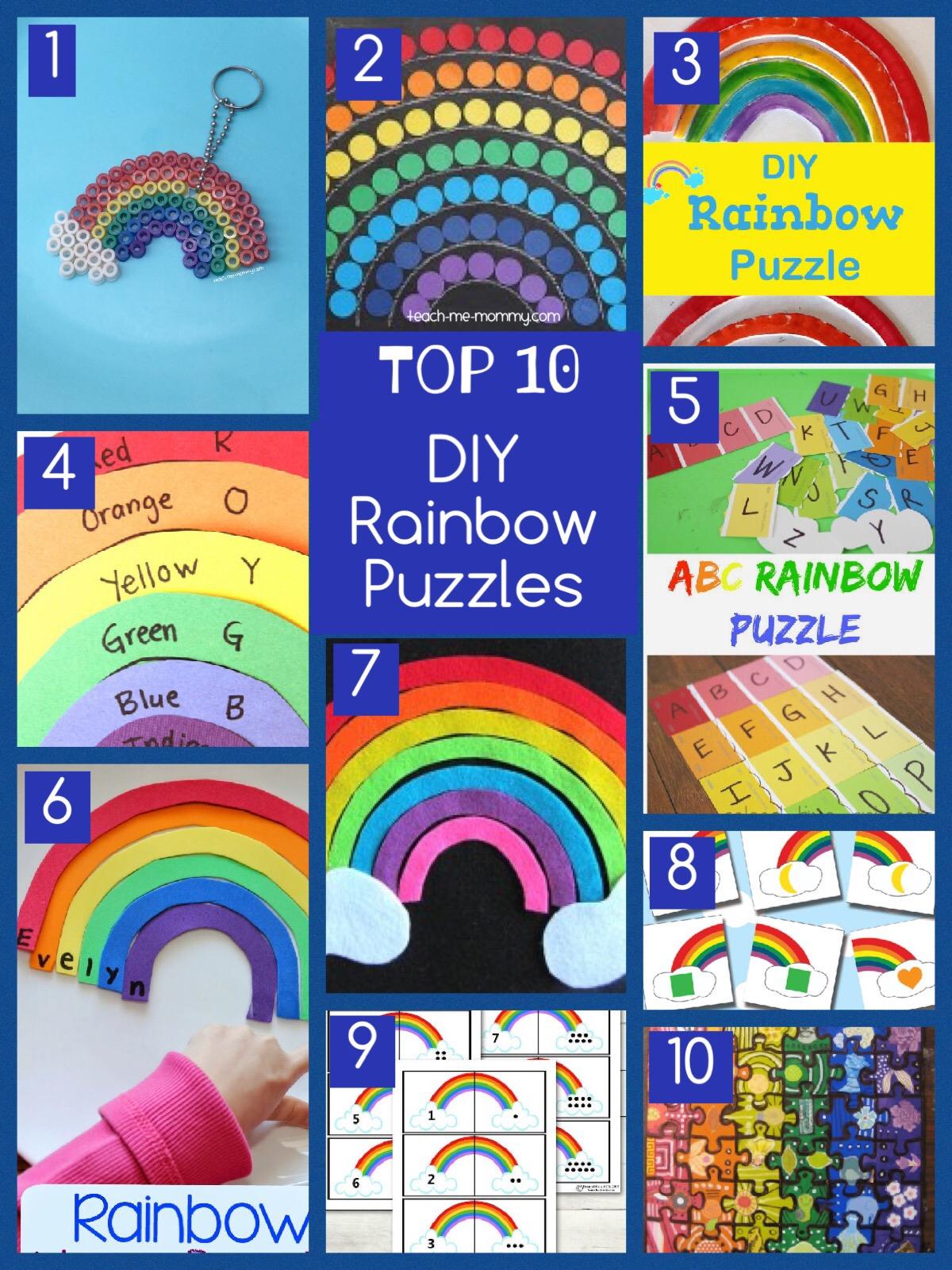 rainbow puzzles