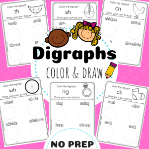 Digraphs TpT