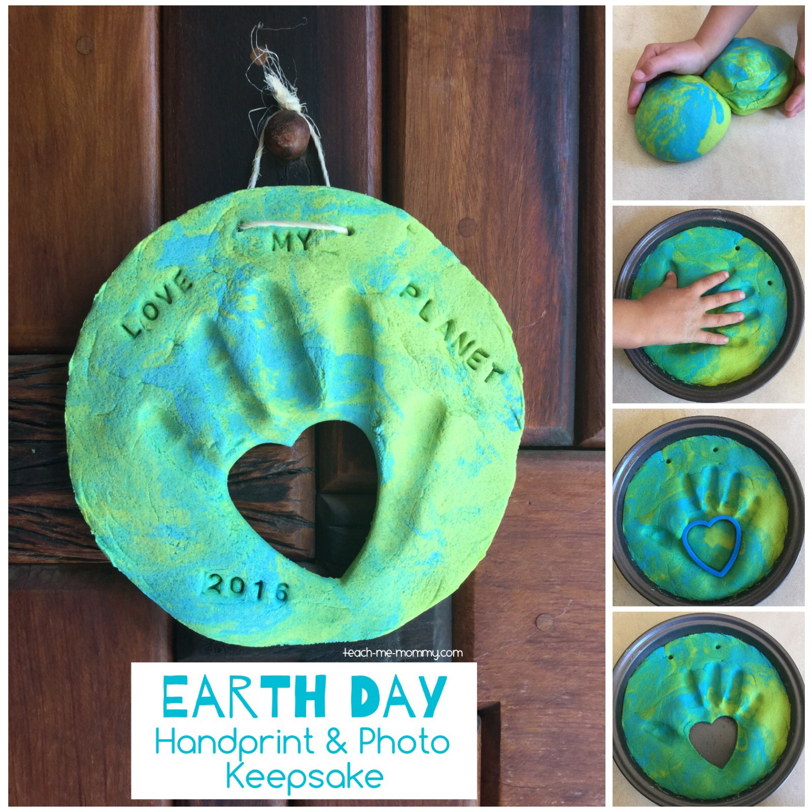 earth globe keepsake