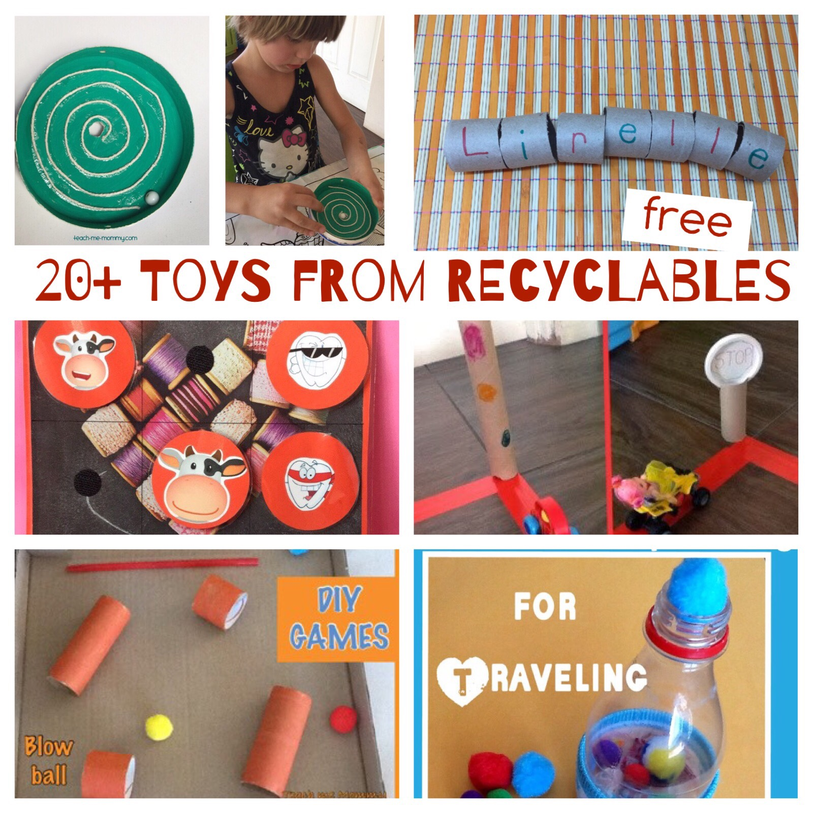 toys from recyclables
