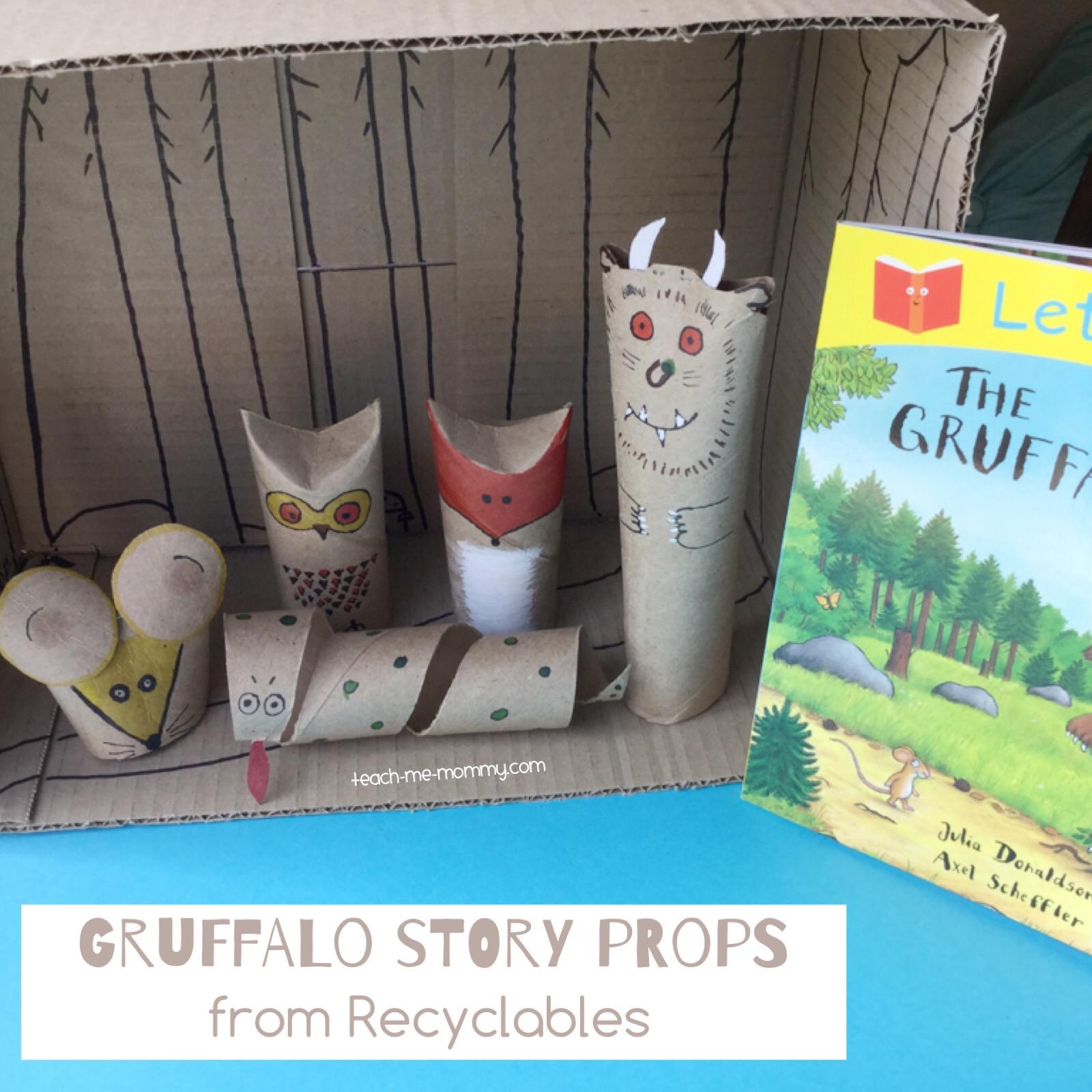 gruffalo story props