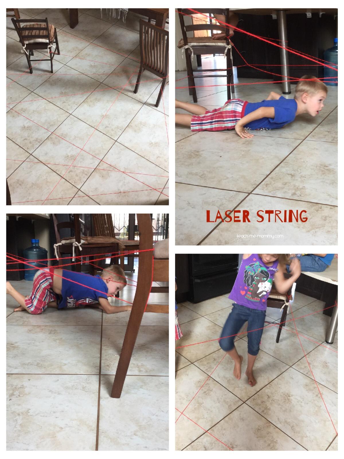 laser string