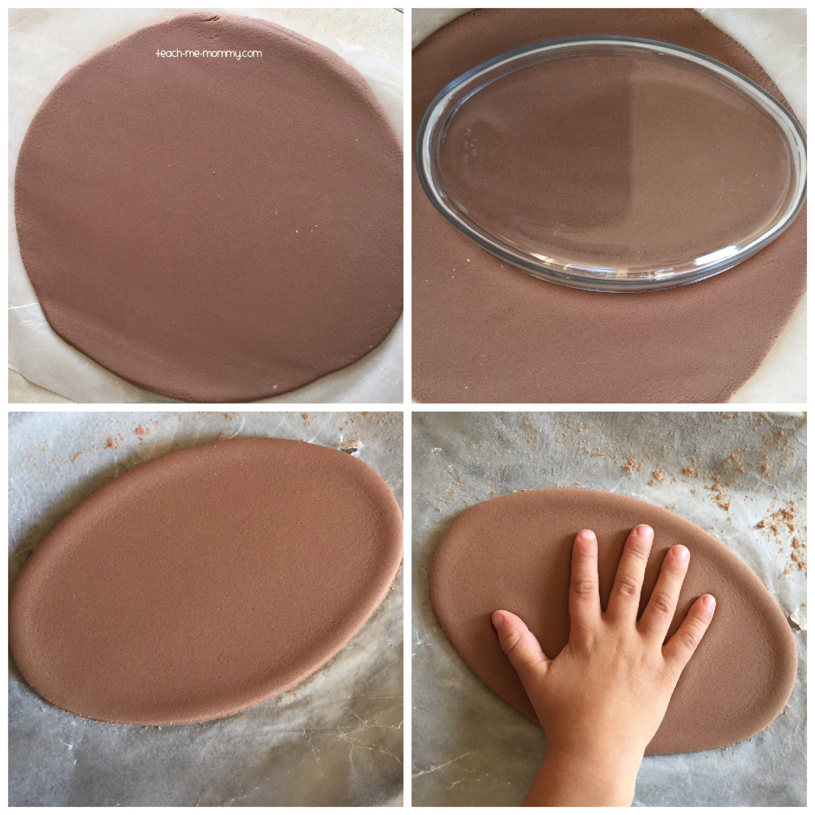 dough handprint